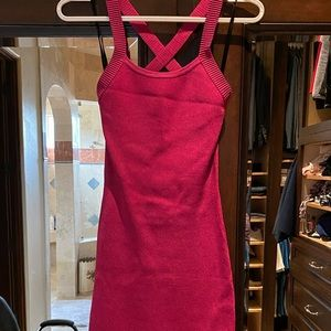 NWT  Bebe pink bodycon dress